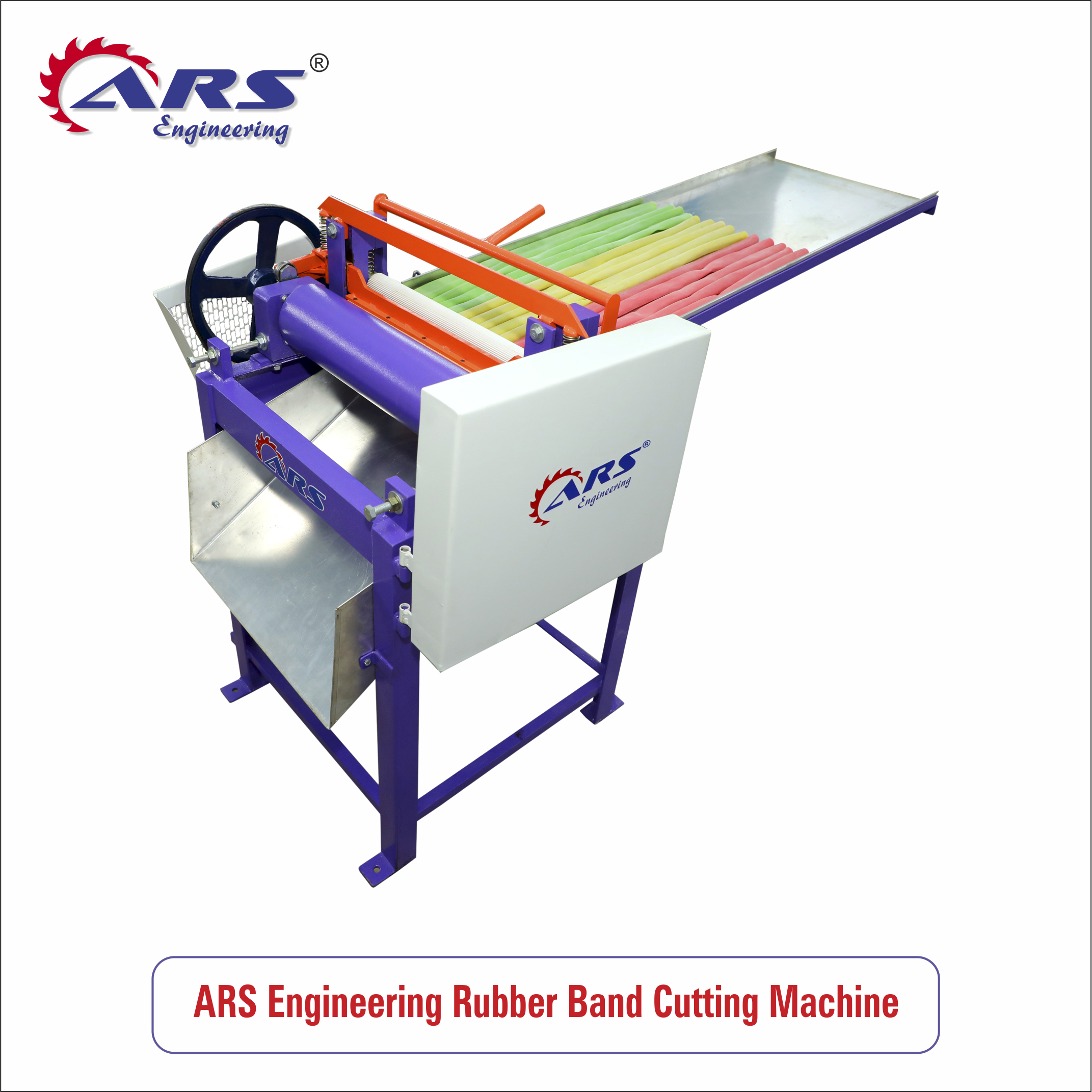 ARS Engineering Rubber Bands Cutting Machine