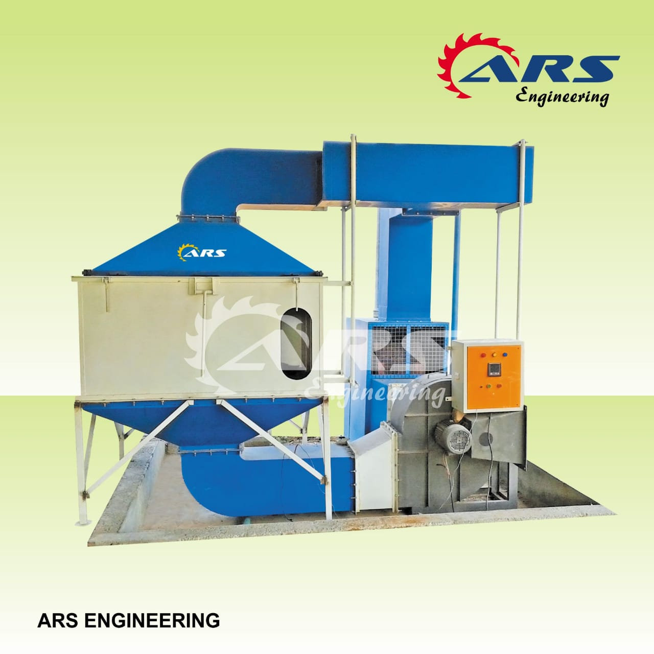 ARS Engineering Rubber Bands Drying Machine