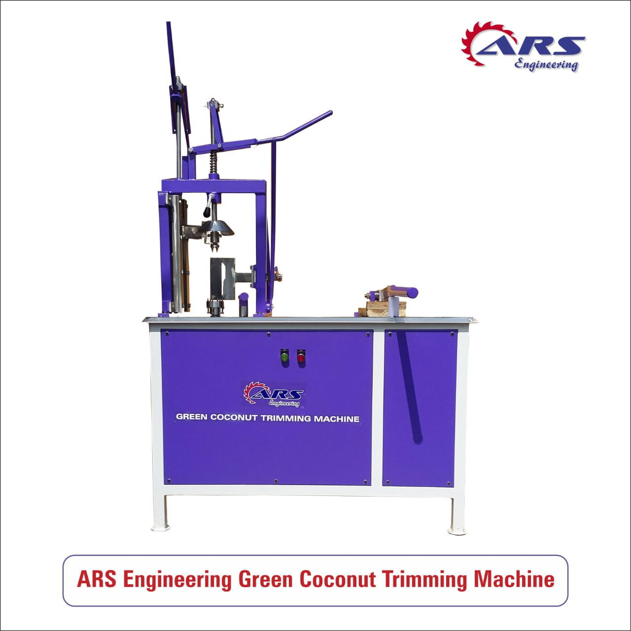 ARS Engineering Coconut Trimming Machine