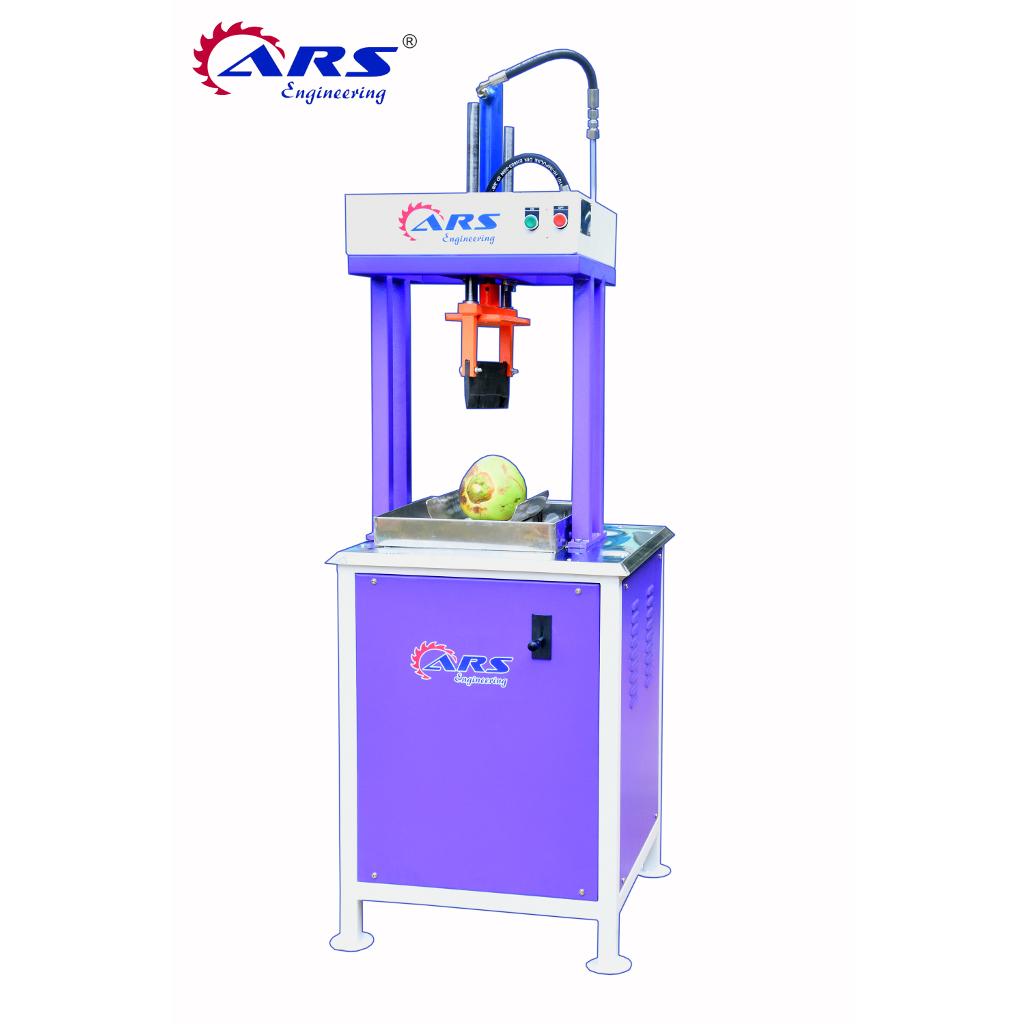 ARS Hydraulic Tender Coconut Cutting Machine