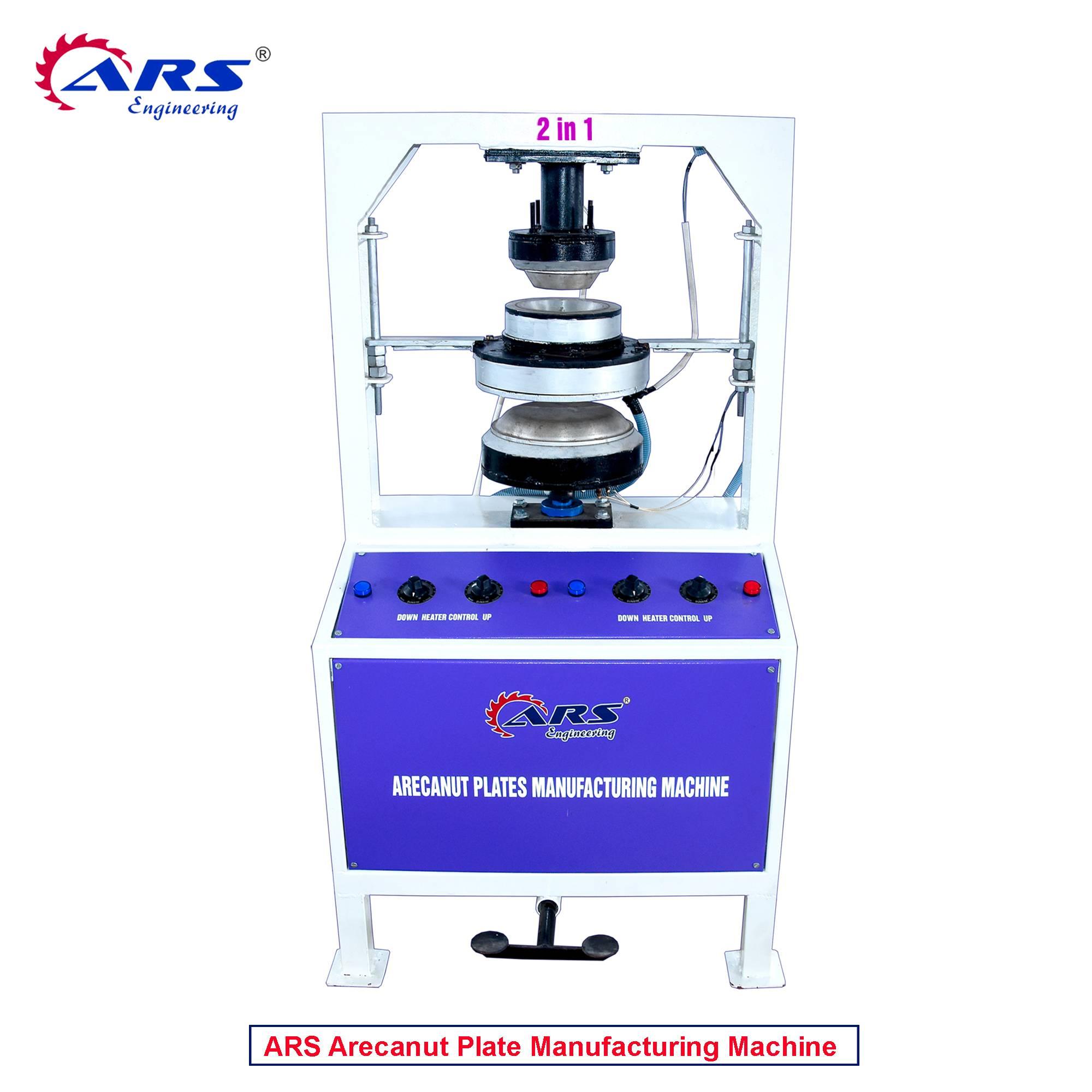 ARS Arecanut Plates Manufacturing Machine